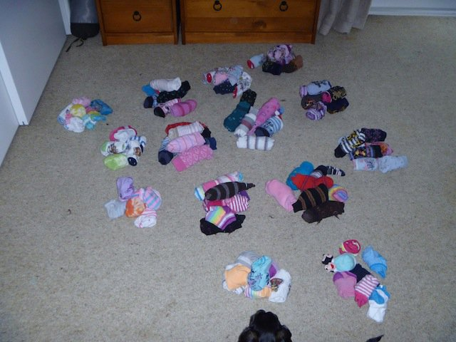 14 weeks worth of socks - literally...