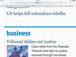 US helps kill colombian rebelks.  Rebelks?  Rebellious elk?