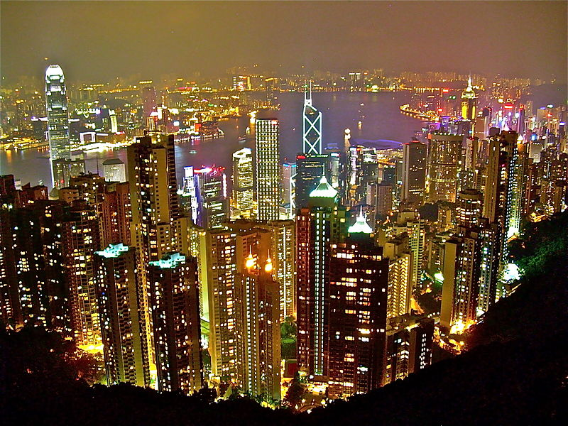Hong Kong Skyline (image taken from Wikipedia)