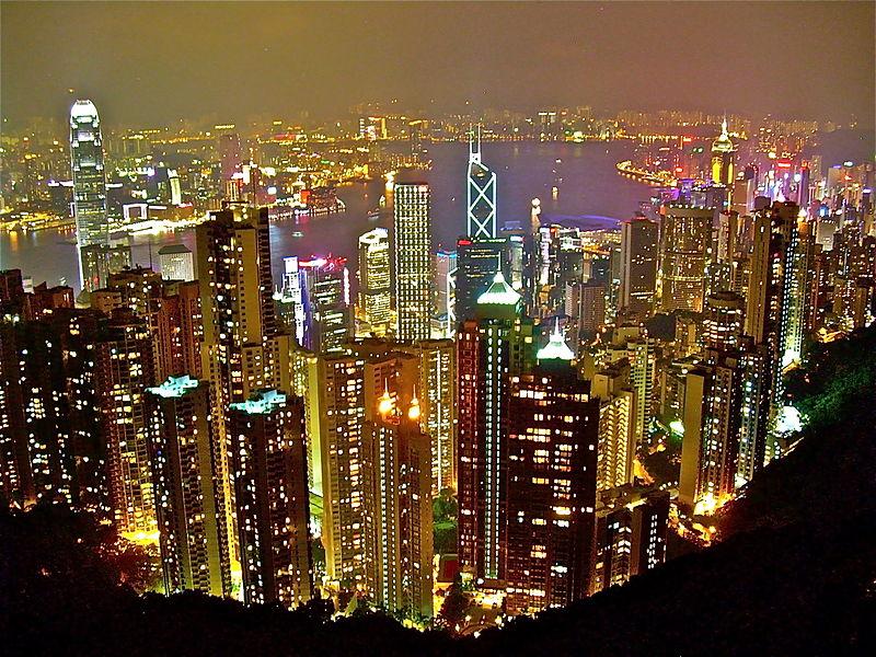 Hong Kong Skyline (image taken from Wikipedia)