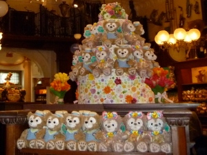 Piles of Duffy and Shellie Mae plush