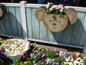 Duffy the Bear planter
