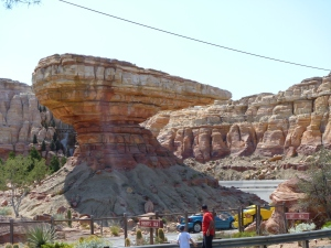 Cars Land Radiator Springs Racers attraction at California Adventure park