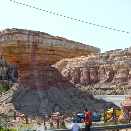 Disneyland Cars Land Radiator Springs Racers