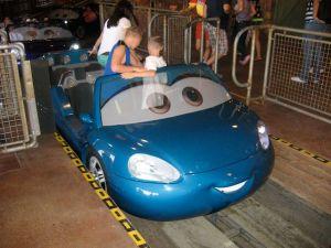 Radiator Springs ride vehicle