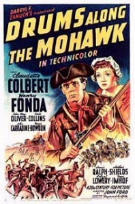 Drums Along The Mohawk movie poster
