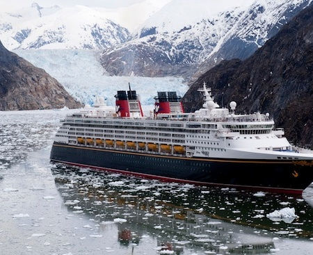 Disney Wonder in Alaska