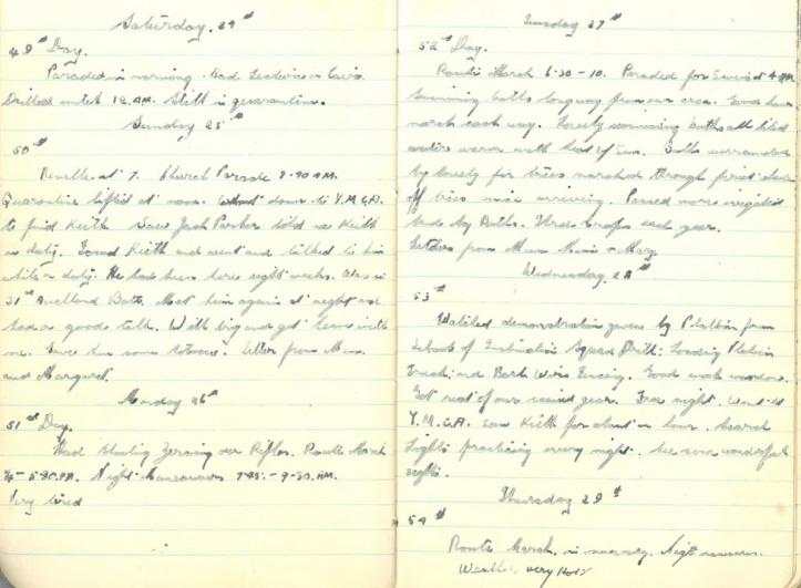 Saturday May 24th - Thursday May 29th 1941