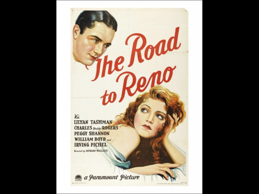 The Road to Reno movie poster