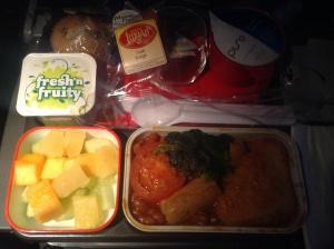 Breakfast on Qantas