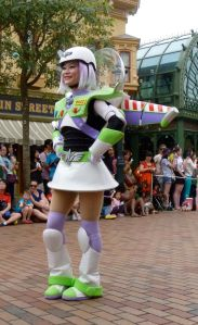 Buzz Lightyear skater girl