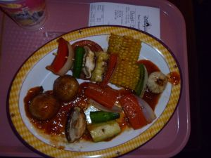 Grilled Vegetable Skewers from Festival of Foods in Fantasyland