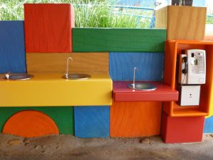 Water fountains for filling your reusable drink bottle