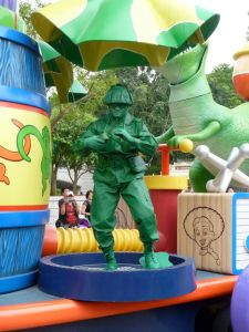 Green Army Man (from Toy Story)