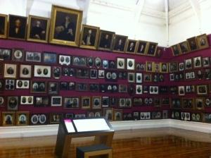 Portrait Gallery of early settlers