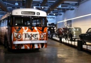 Tiger Tea Trolley Bus