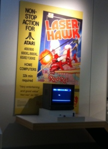 Vintage Atari Laser Hawk Game you can play