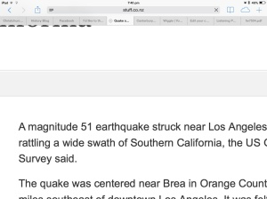 A 51 magnitude quake would probably take out the planet