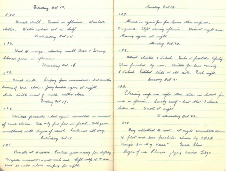 October 14-22, 1941
