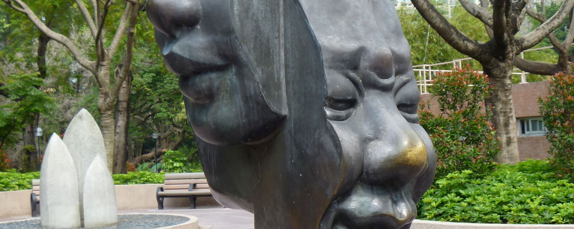 Sculpture at Kowloon Park