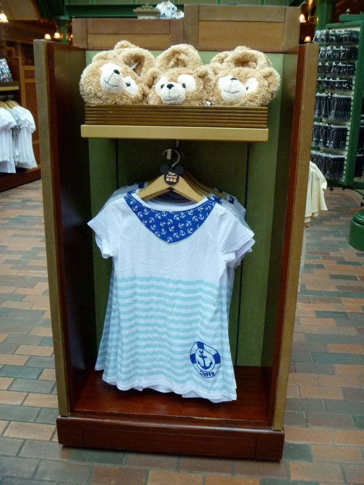 Duffy t-shirt and bag