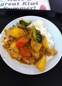Malaysian Vegetarian Curry from Downtown Foodcourt