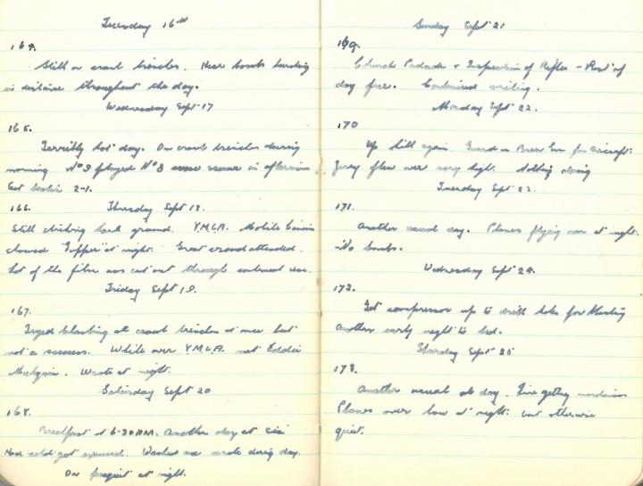 September 16-25, 1941