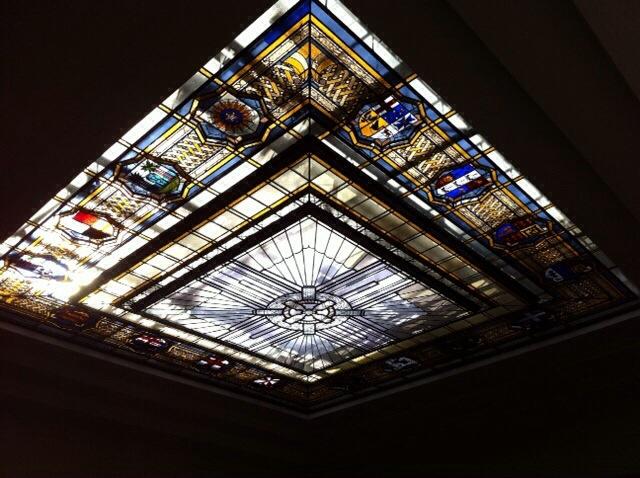 World War 1 War Memorial Ceiling glass
