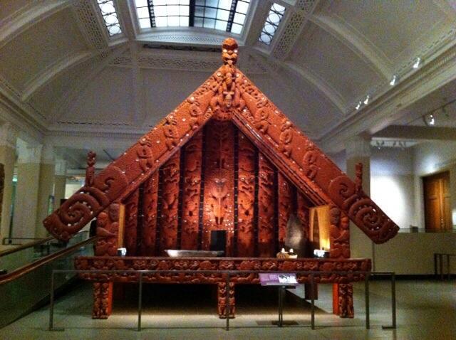 Beautiful Maori carvings