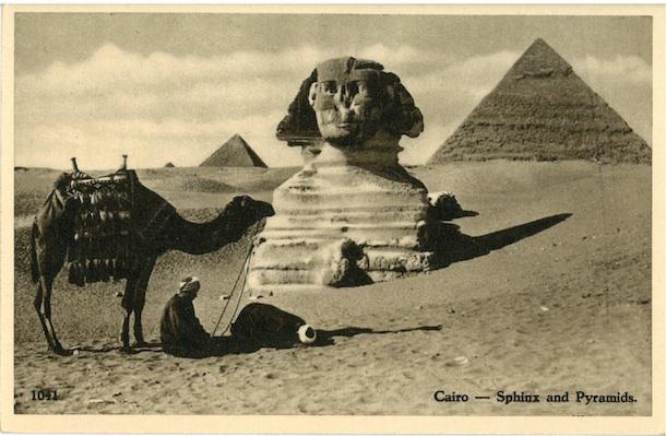 Cairo - Sphinx and Pyramids