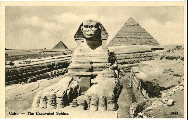 Cairo - The Excavated Sphinx