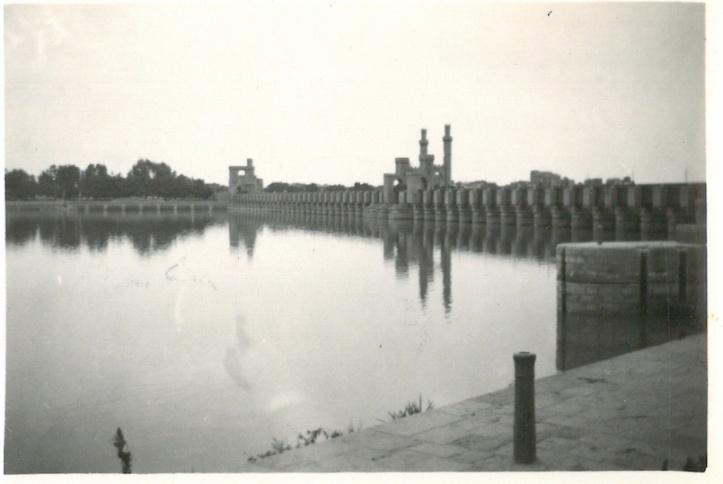 Delta Barrage Cairo January 25th 1942