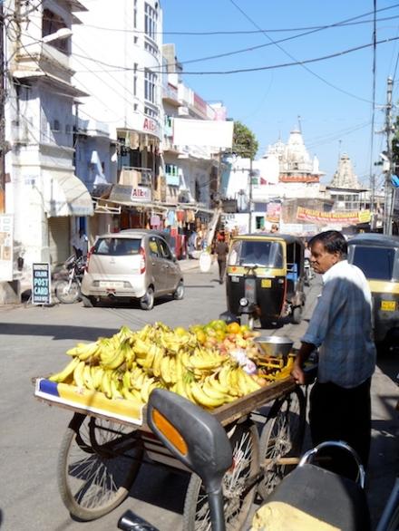 Banana seller