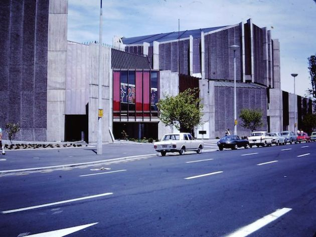Christchurch Town Hall (Kilmour Street) - January 1973