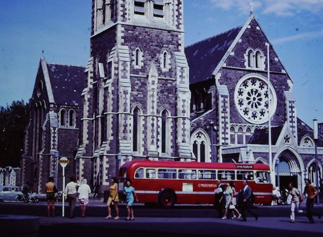 Christchurch Cathedral - January 1971