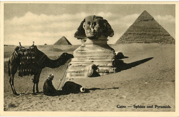 Cairo - Sphinx and Pyramids