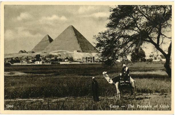Cairo - The Pyramids of Gizeh