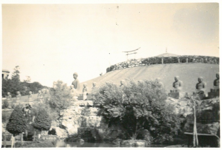 Images surrounding Lily Pond - Japanese Gardens - Helwan - June 29 1941