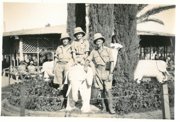Lyttelton boys by largest image - Japanese Gardens - Helwan - June 29 1941