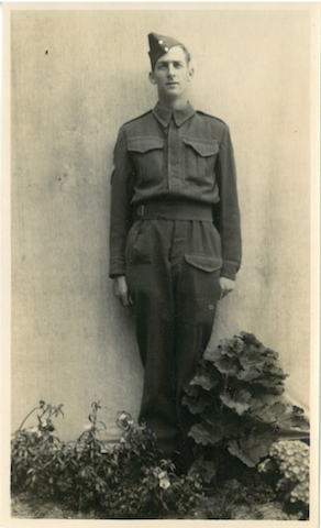 Keith Sillars - my Grandfather's brother.  He was killed in action.