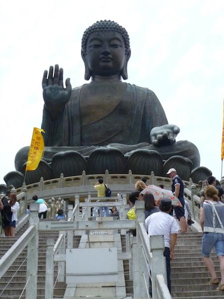 Big Buddha at Ngong Ping Vlilage - Hong Kong