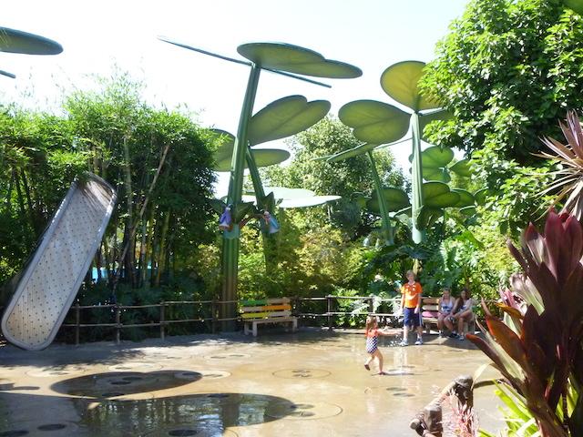 Princess Dot Puddle Park water play area