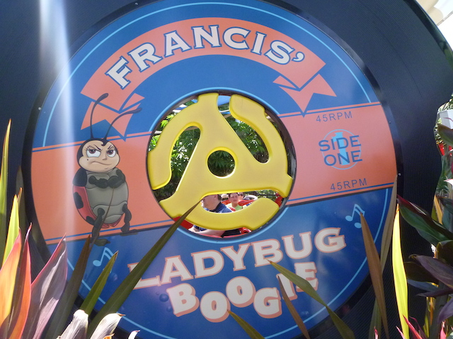 Francis' Ladybug Boogie Sign