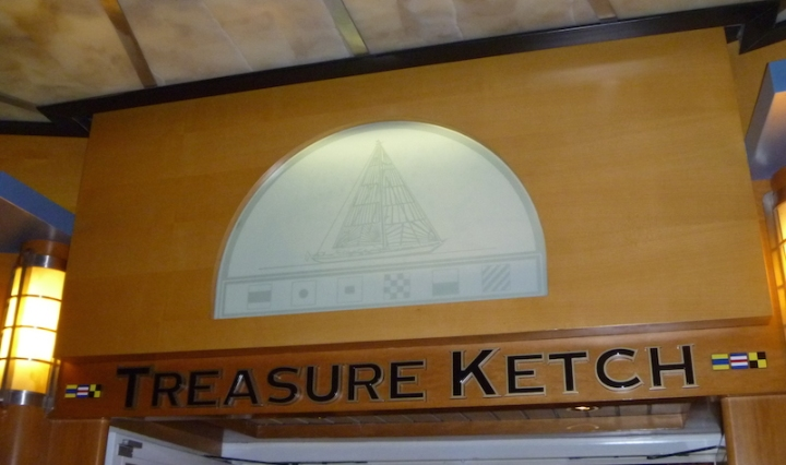Treasure Ketch - Shopping on the Disney Wonder
