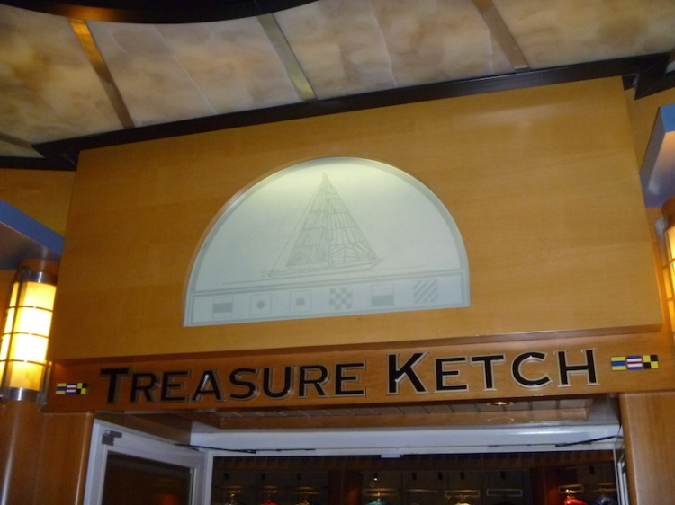 Treasure Ketch - Shopping on the Disney Wonder