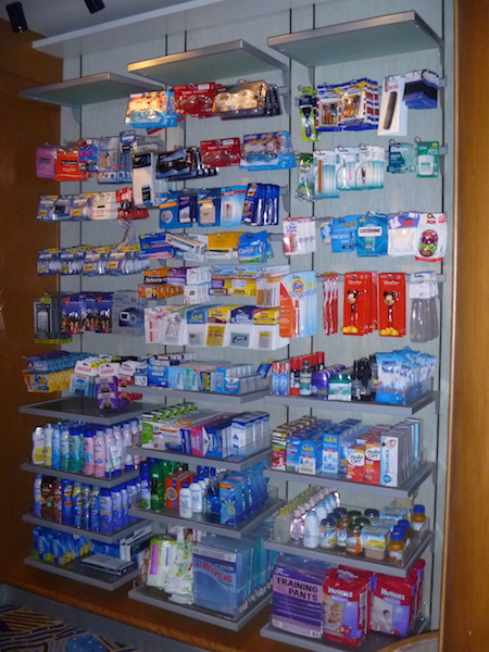 OTC medications and sundries
