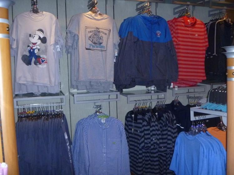 Tshirts and jackets