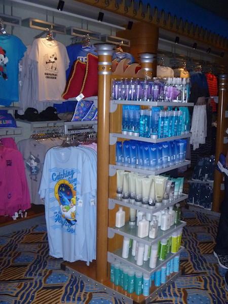 H2O branded toiletries