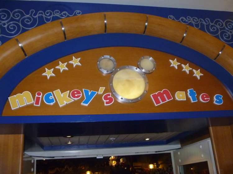 Mickey's Mates - shopping on the Disney Wonder