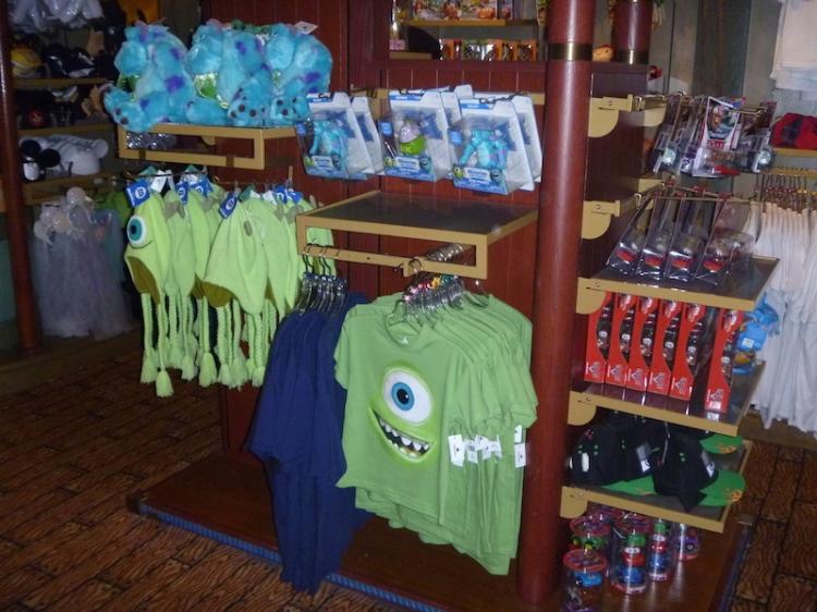 Monsters Inc goodies